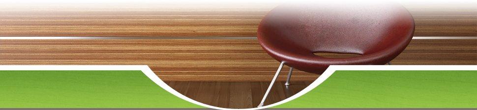 Wooden walls and floorboards