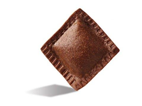 Quadrelli di cacao con scorza d