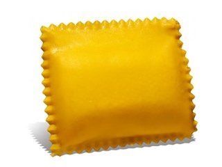 Ravioloni con formaggio Asiago e radicchio rosso di Treviso