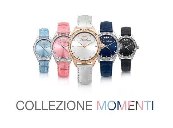Serie di orologi di colori diversi