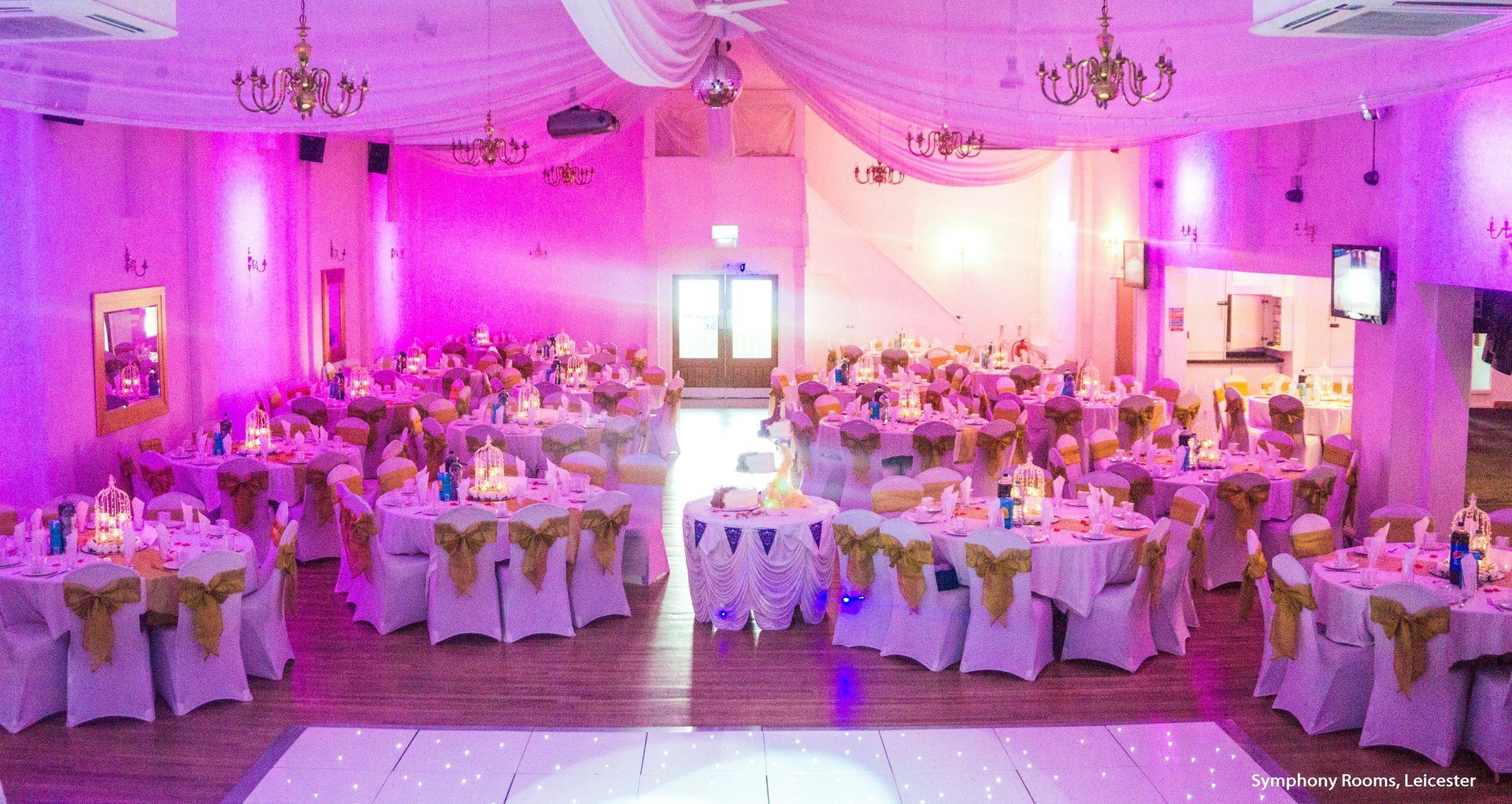 Wedding venue styling shimmer events in leicester slide title junglespirit Gallery