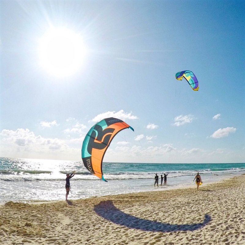 Mexican Caribbean Kitesurf, Kite and SUP Center in Tulum