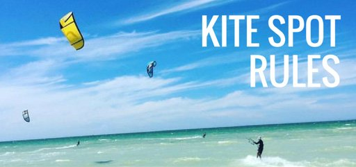 Ahau Tulum Kite Spot Rules