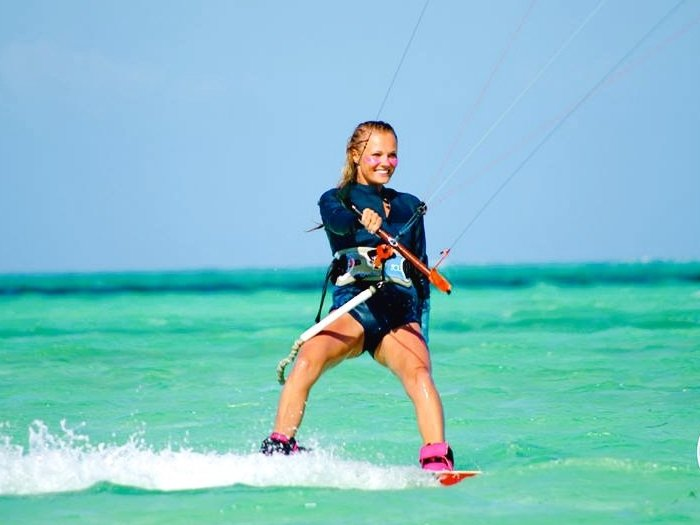 Agata Kitesurfing Instructor Iko Certified Kiting
