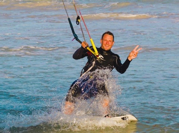 Joost Kitesurfing Instructor Iko Certified in Tulum