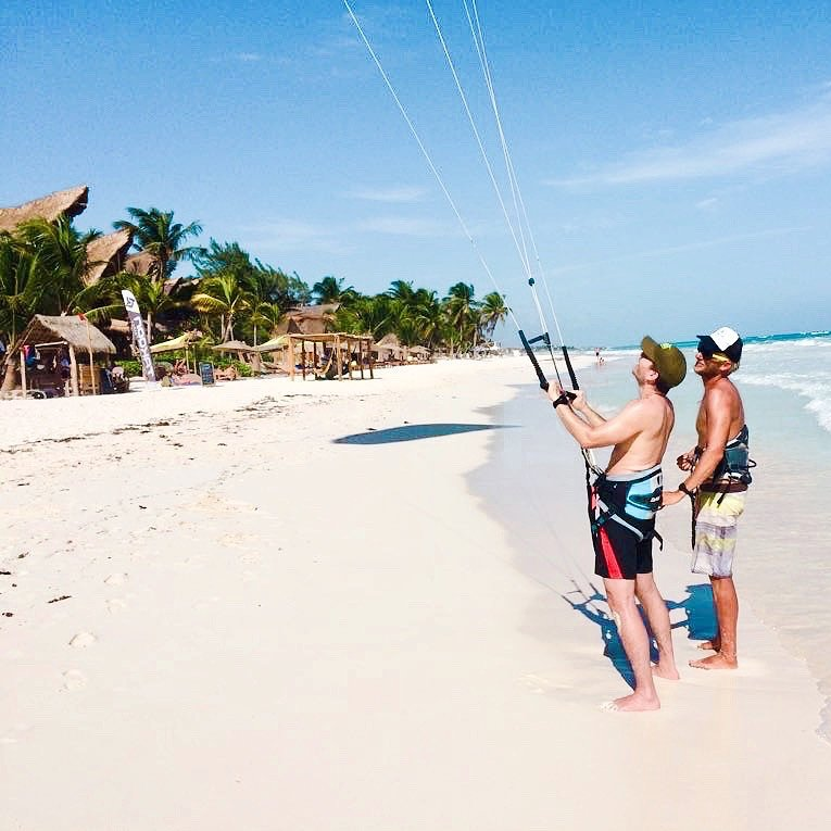 Ahau Tulum Best Kite Spot in Tulum Mexico