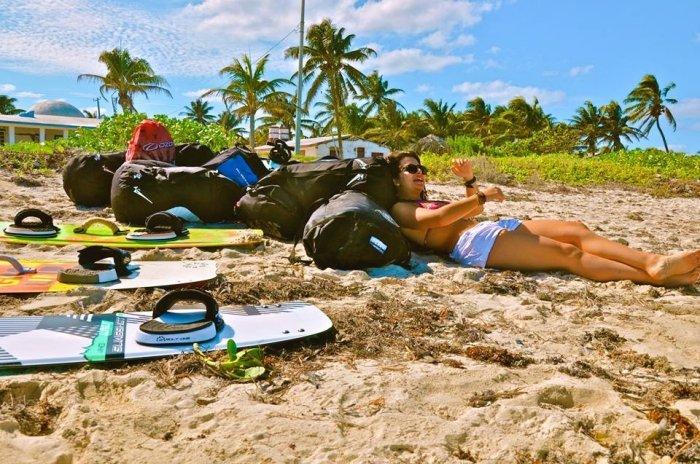 Kitesurf Trip a El Cuyo Yucatan con Mexican Caribbean Kitesurf