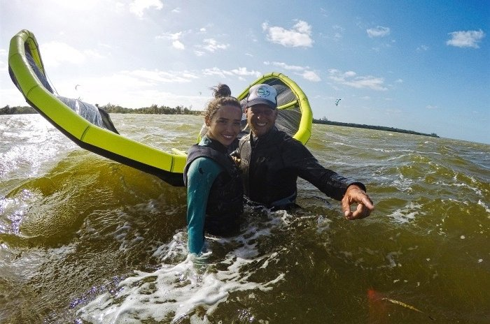 Kitesurf Trips a Isla Blanca con Mexican Caribbean Kitesurf