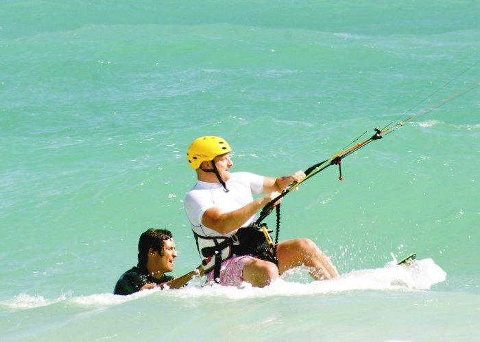 Learn Kitesurf in Tulum with Mexican Caribbean Kitesurf