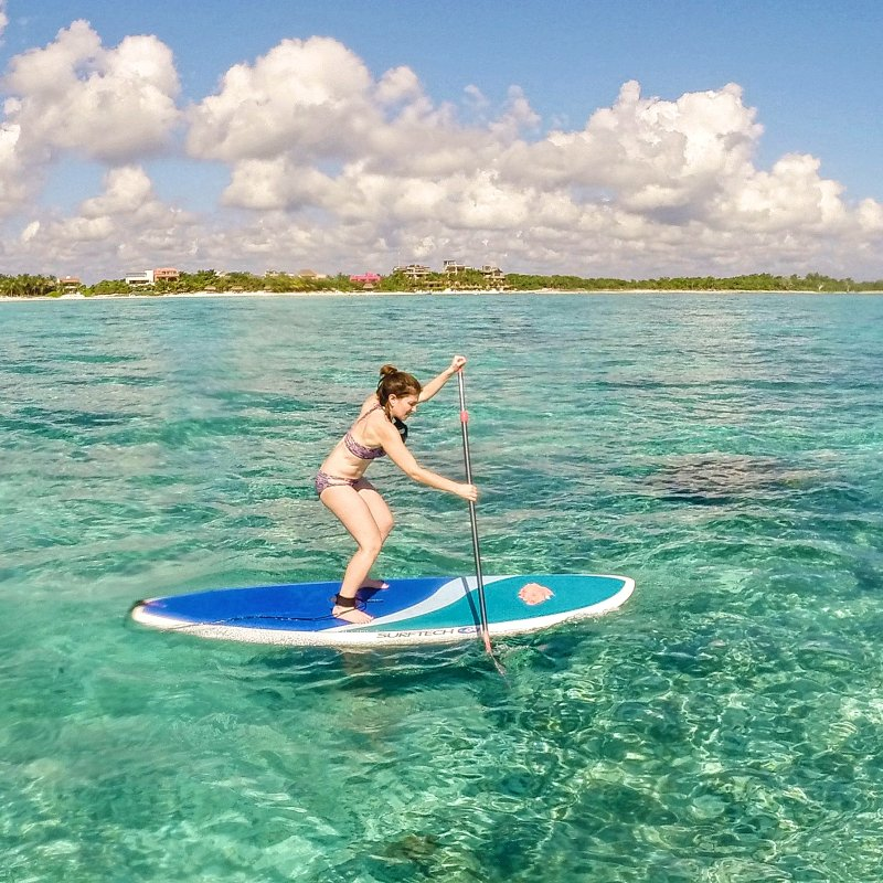 Stand Up Paddle Boarding Lessons to Tulum