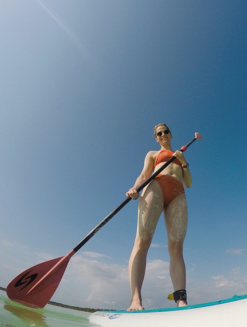 Stand Up Paddle Boarding Lessons in Tulum