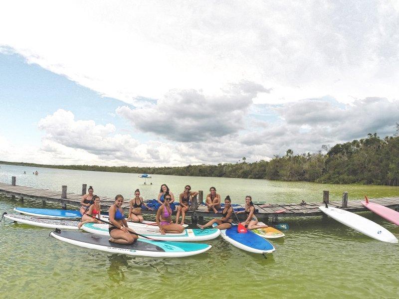 Paddleboarding Tour para grupos en la Laguna