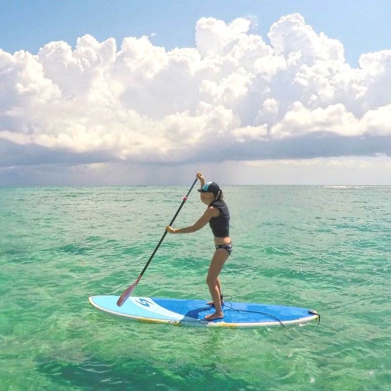 Best Stand Up Paddle Boarding Lessons in Tulum Mexico