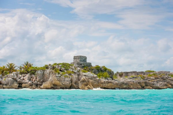 Visit Tulum Ruins from a Paddle Board