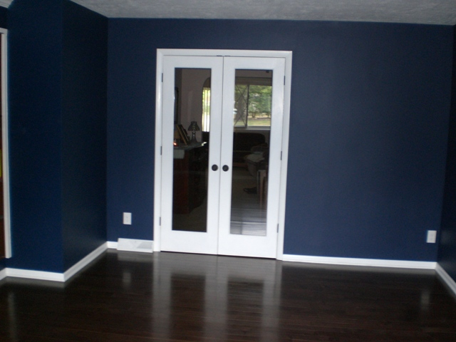 New Study with French Doors