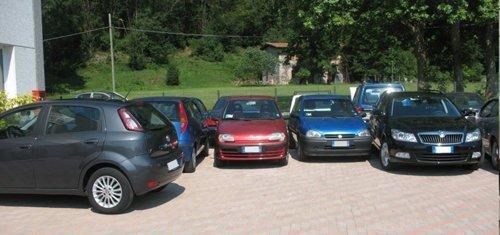 automobili parcheggiate