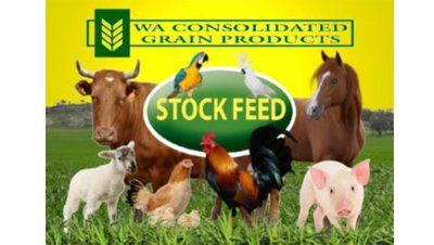 wa consolidated grain chicken pig hen logo