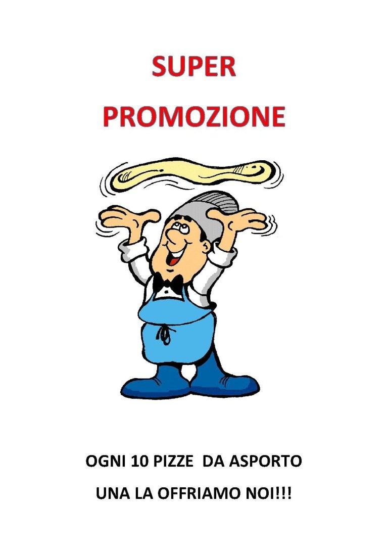 Pizze da asporto