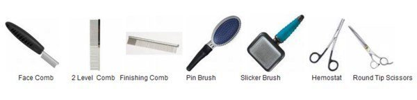 Grooming tools for the Shih Tzu