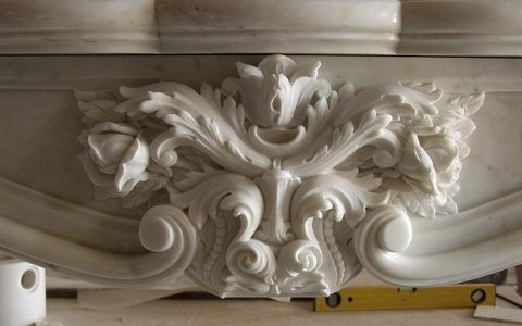 Classical fireplace decorations