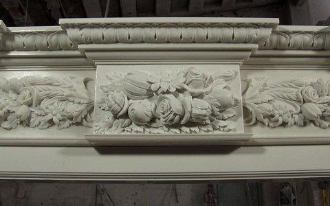 Monumental fireplace