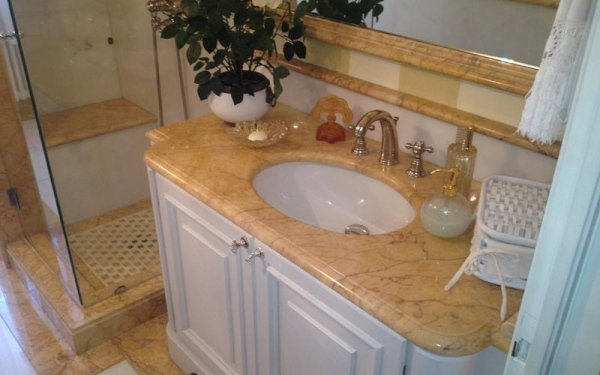 Marble for bathrooms