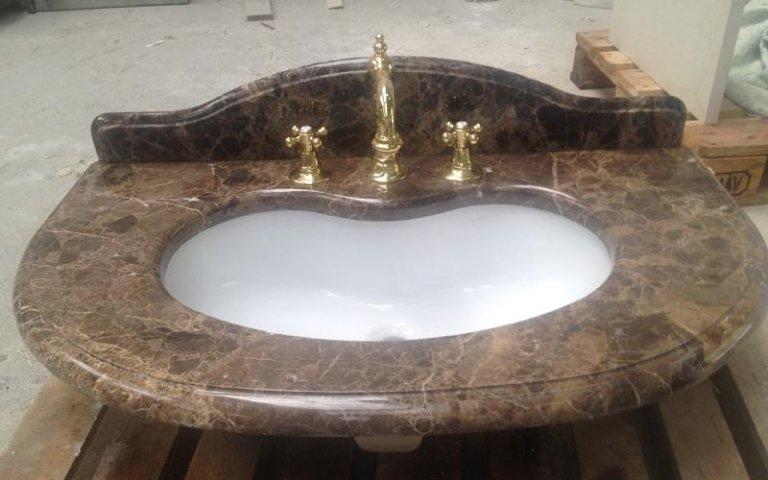 Embedded washbasin