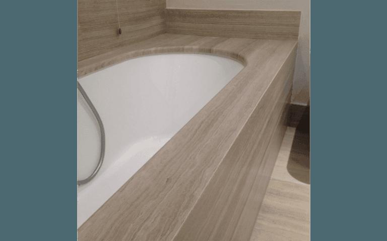 Dettaglio vasca da bagno