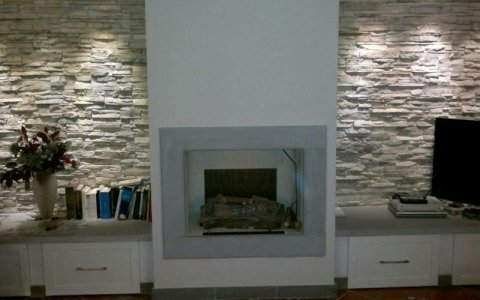 Fireplace manufacturing