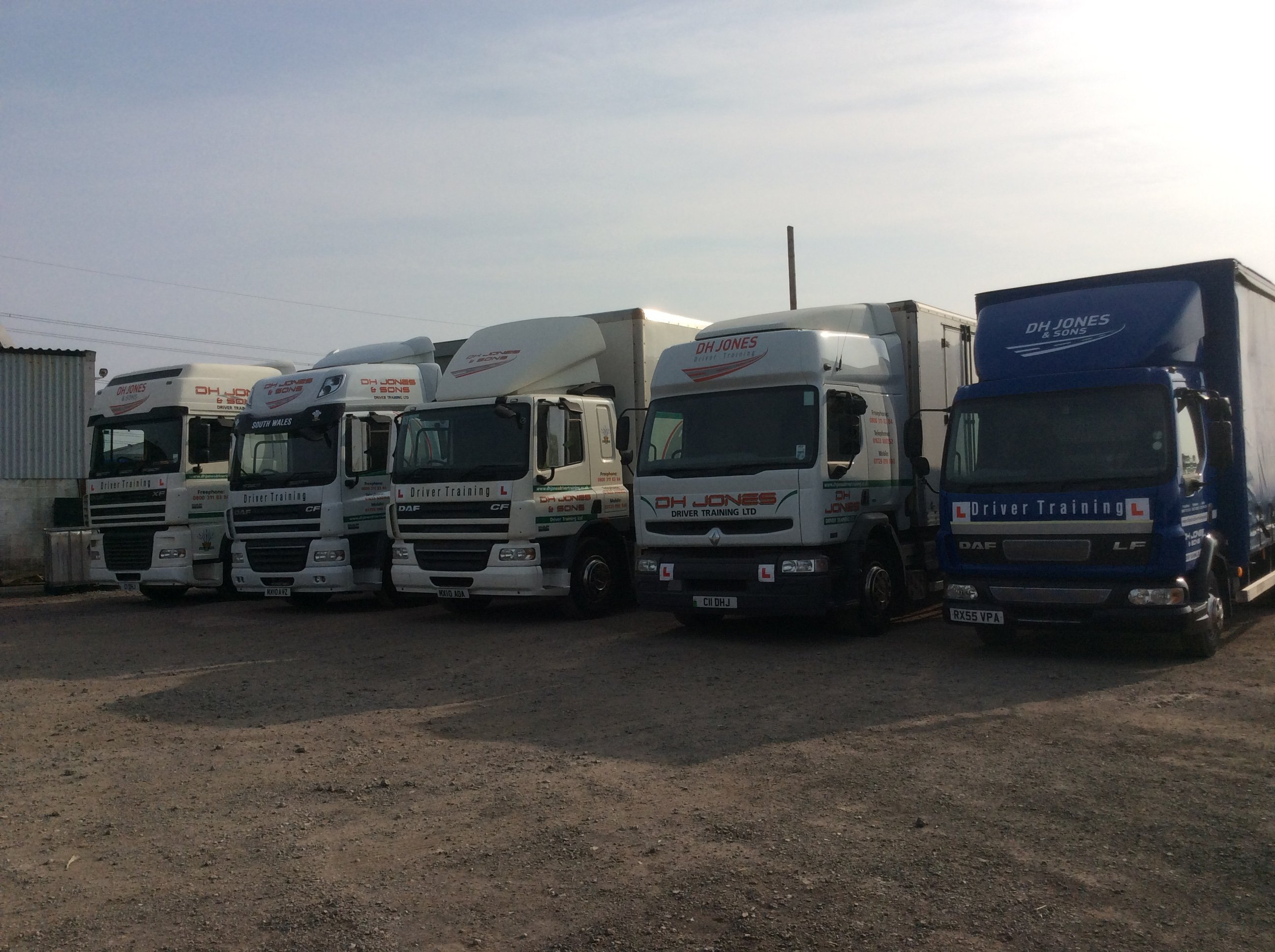 LGV and HGV driver training