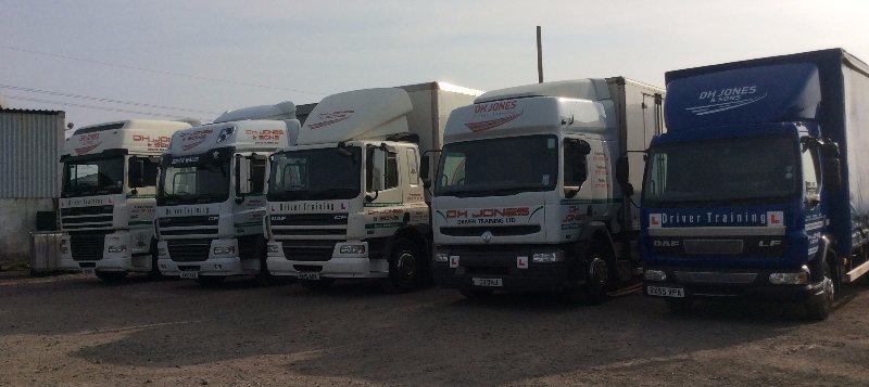 Our excellent fleet of training vehicles