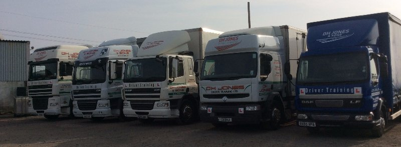 Contact DH Jones Driver Training Ltd