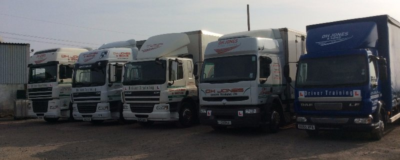 HGV and LGV driver training courses in South Wales