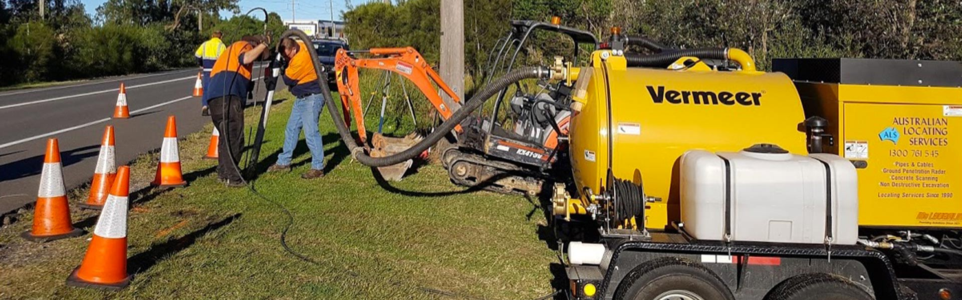 australian locating services potholing or non destructive digging