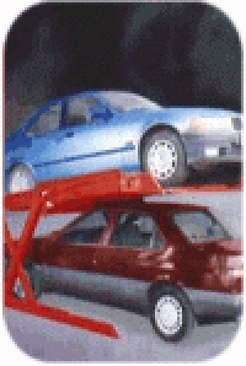 interno della parcheggio