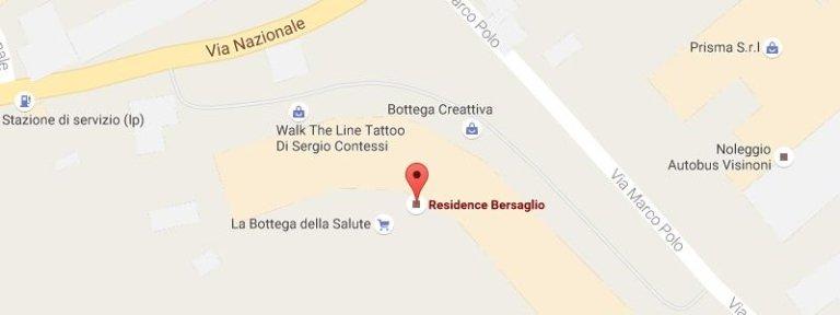 www.google.it/maps/place/Residence+Bersaglio/@45.8242885,10.0894278,18z/data=!3m1!4b1!4m5!3m4!1s0x4783d96beef2626b:0x3d752a6a52722696!8m2!3d45.8242866!4d10.0905221
