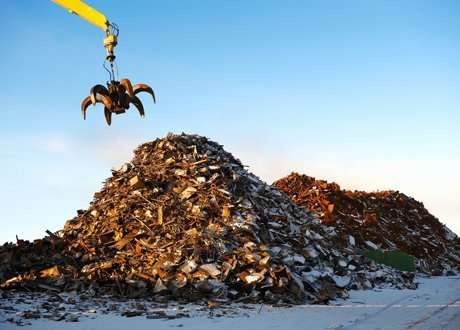 metal waste collection