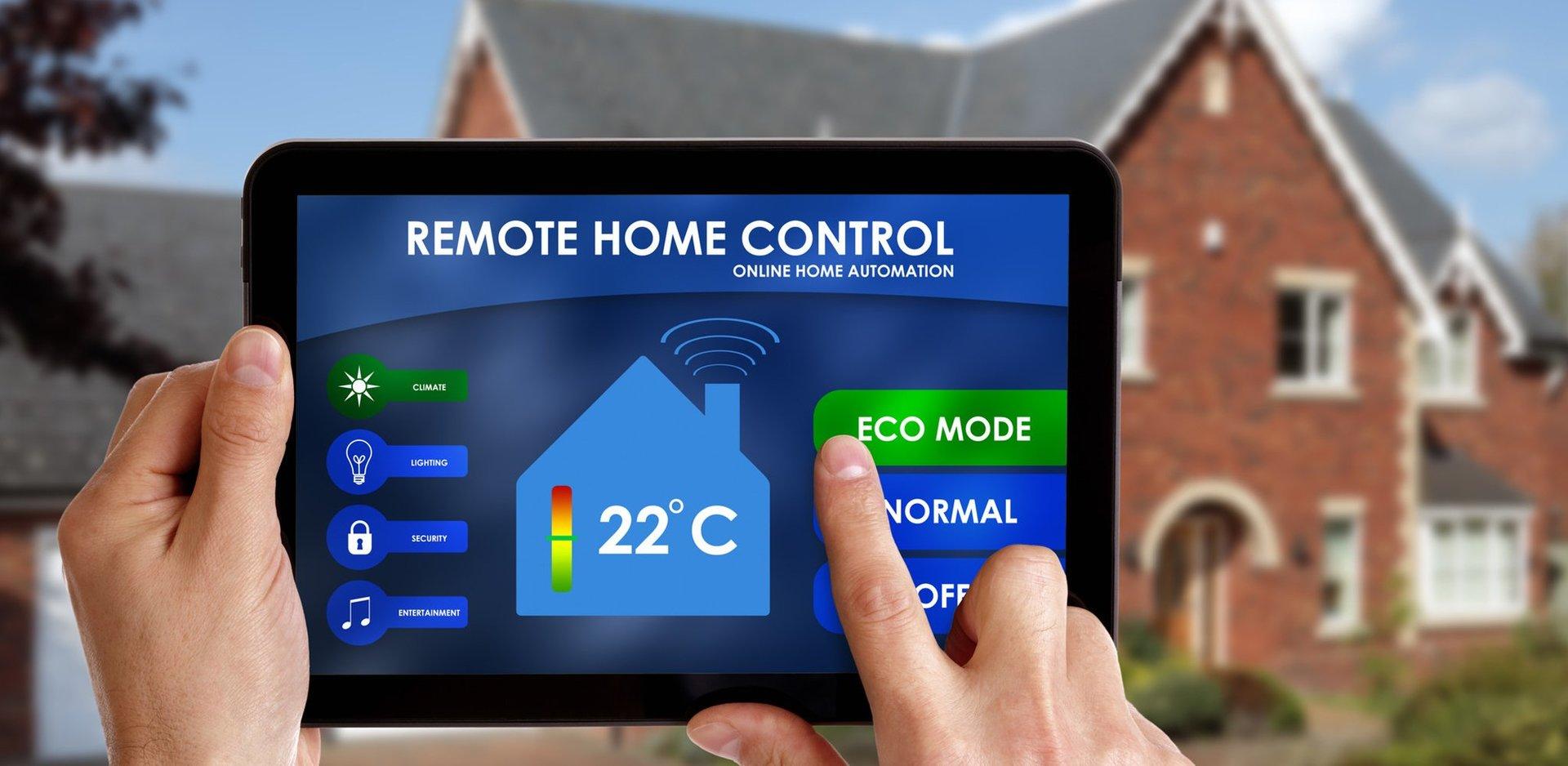 remote home controls