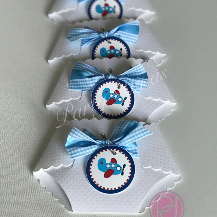 Diaper invitation, airplane theme diaper invitation