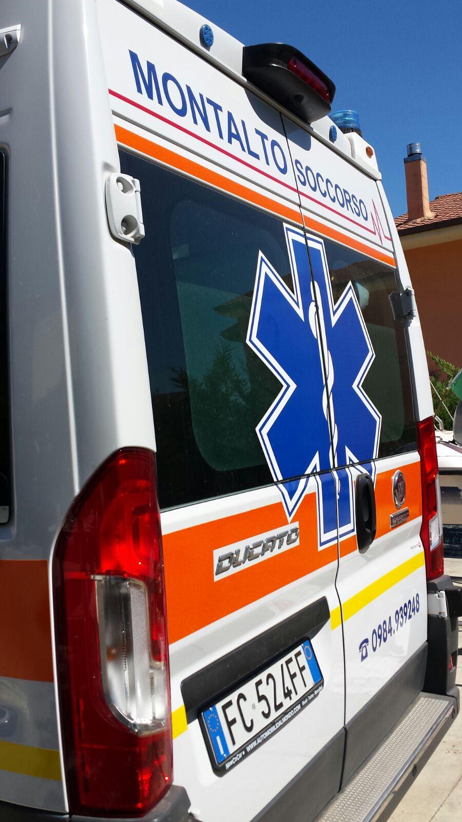 portelloni dell'ambulanza