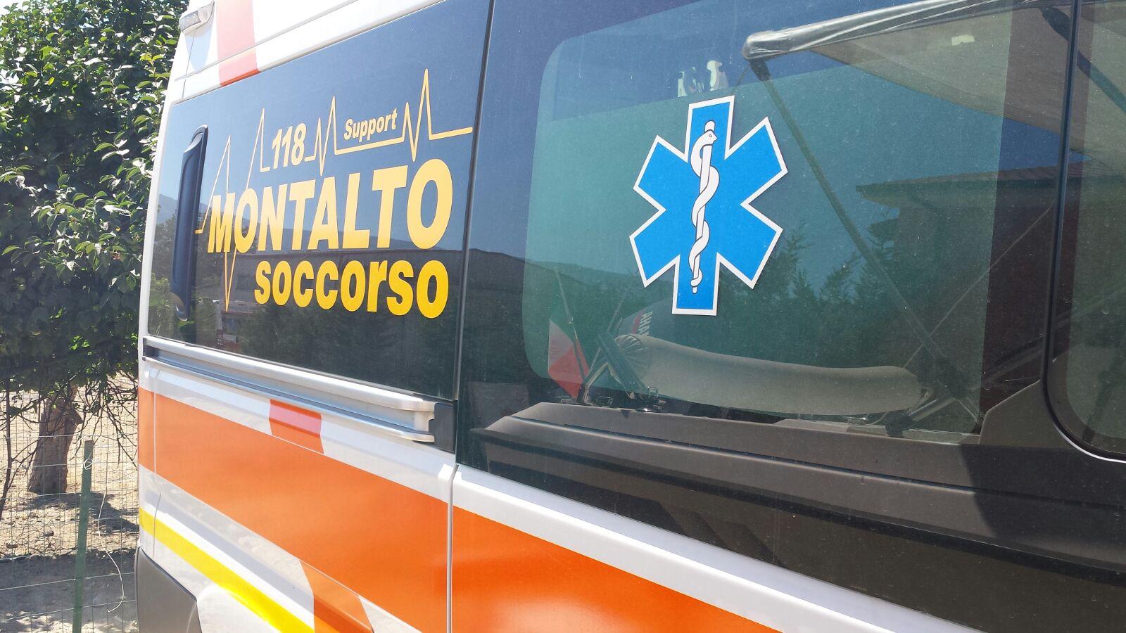 fiancata della ambulanza