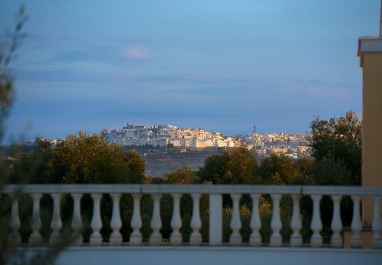 Panoramic View of Ostuni