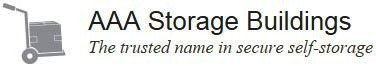 AAA Storage Buildings logo