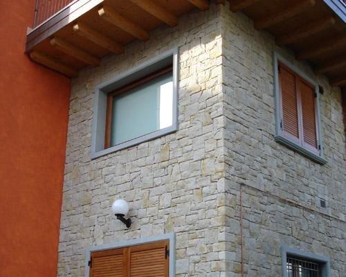 Mattonelle in pietra casa esterna
