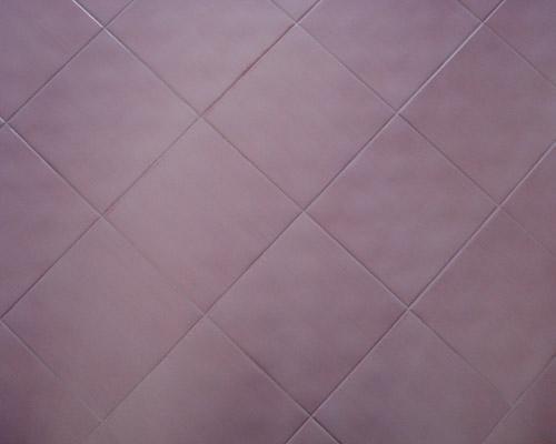 Mattonelle pavimento rosa