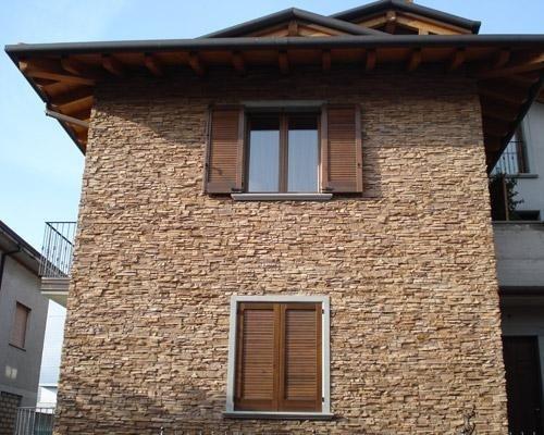 Rivestimento in pietra per case