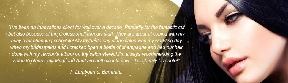 To book an appointment with one of our skilled hairdressers in  call 01753 201 427