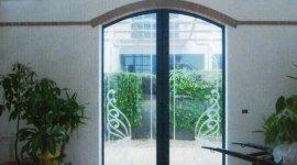 porte in vetro, vetro satinato, porte per locali