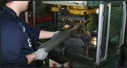 stampaggio lamiere in alluminio
