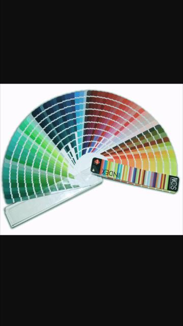 ventaglio di colori